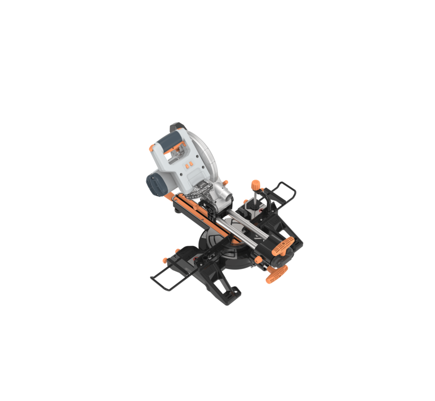 Scie radiale a  coupe onglet avec bras articlule 18V