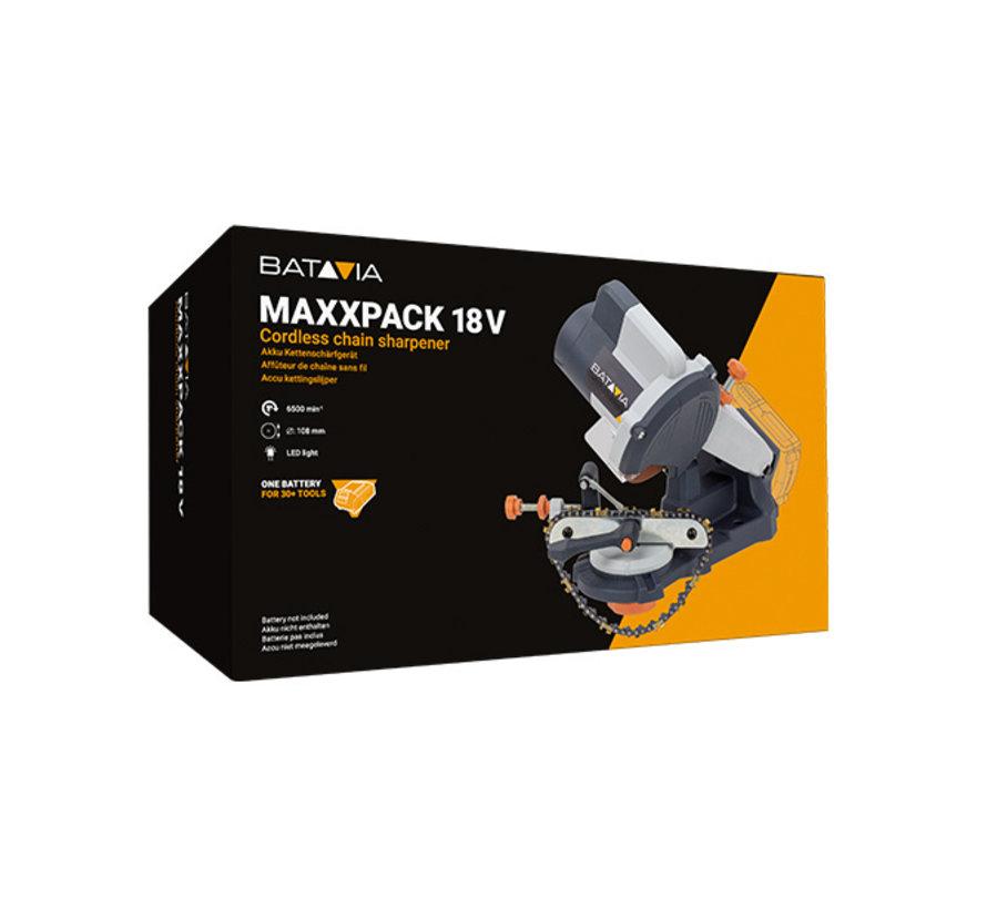 Affûteur de chaîne de batterie Batavia 18V | Maxxpack Collection