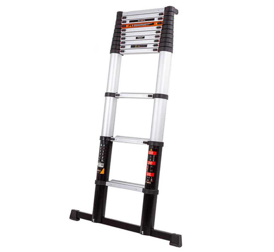 Batavia Professional telescopische ladder 3.81 m