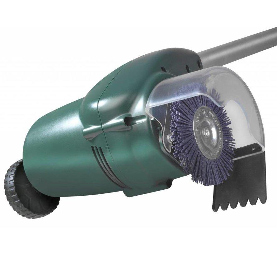 Unkrautbürste 400 Watt mit 2 Kunststoffbürsten
