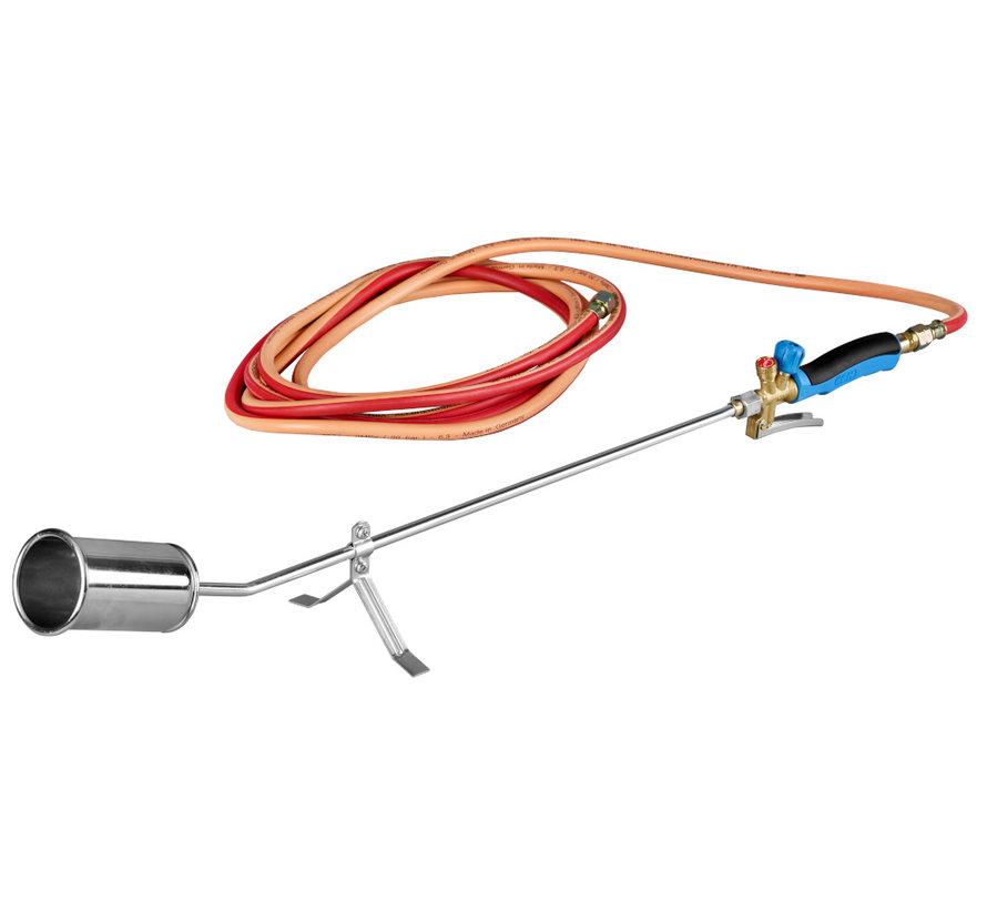 PA079 Professioneller Unkrautbrenner mit 5 Meter Gasschlauch
