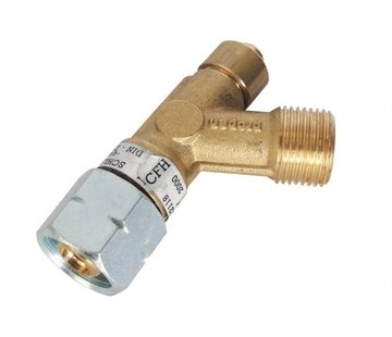 "CFH SB 118 Hose rupture protection, 3/8"" thread"