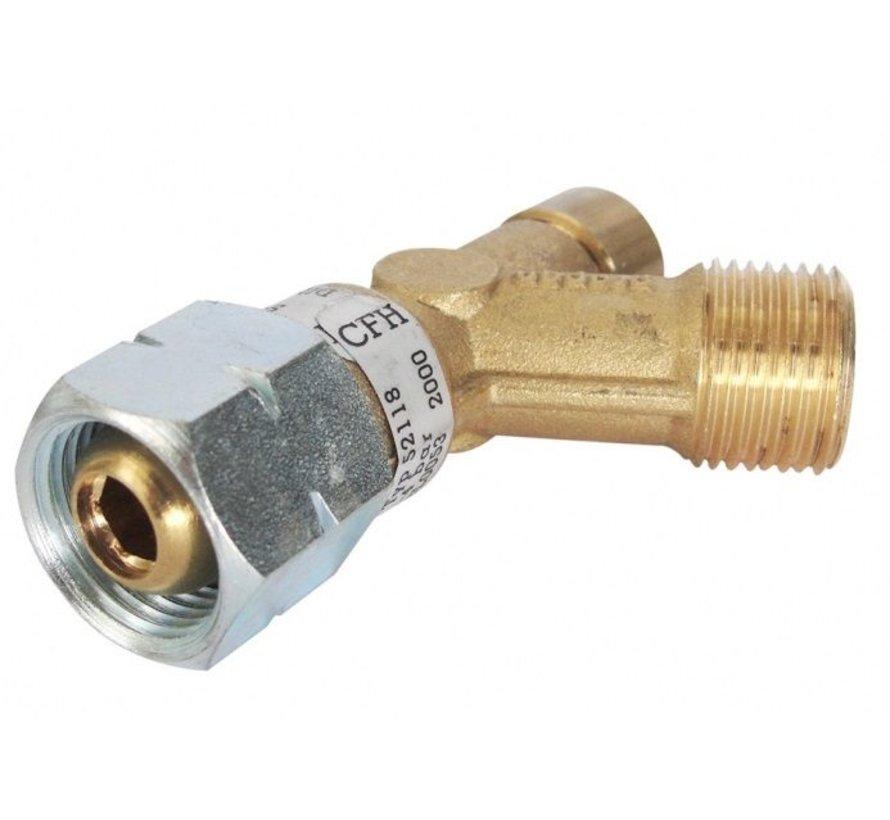 "SB 118 Hose rupture protection, 3/8"" thread"