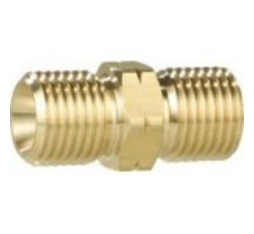 70103 gasslangverbinder / gas slangverbinder - verbinding 3/8