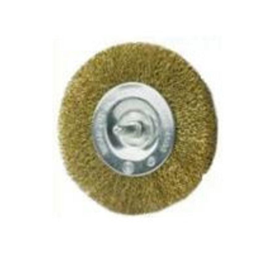 Brosse de rechange métal - brosse pour désherbeur eurom 400W