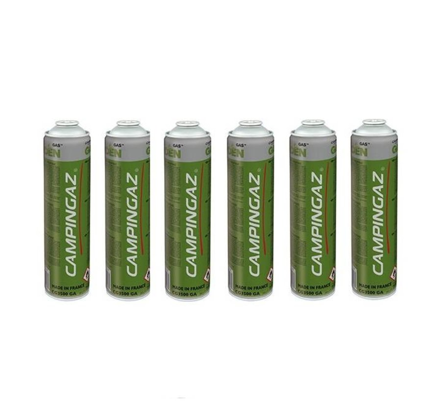 6x CG3500 GA Gas cylinder for GT2000PZ & GT3000PZ weed burners