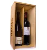 2-vaks Pouilly-Fuissé Bourgogne en Ch. Sociando Mallet Haut Médoc