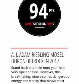 Weingut A.J. Adam, Neumagen-Dhron, Mosel Dhroner Riesling Trocken 2017, A.J. Adam