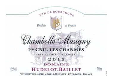 Domaine Hudelot-Baillet, Chambolle-Musigny