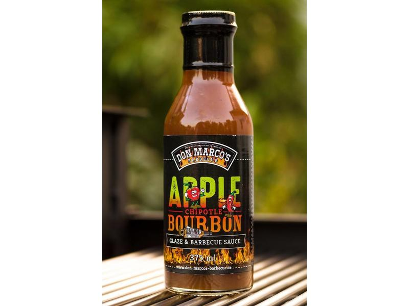 DON MARCO Apple Chipotle Bourbon Glaze & Barbecue Sauce 375ml