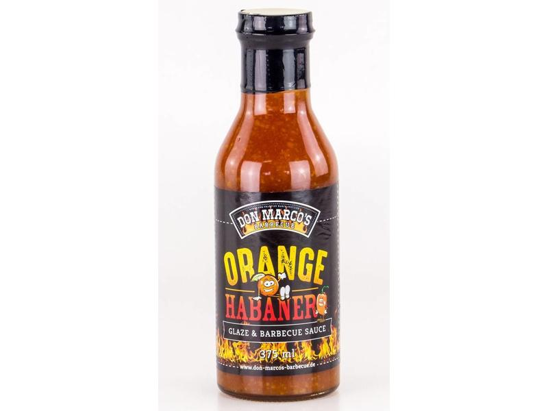 DON MARCO Orange Habanero Glaze & Barbecue Sauce 375ml