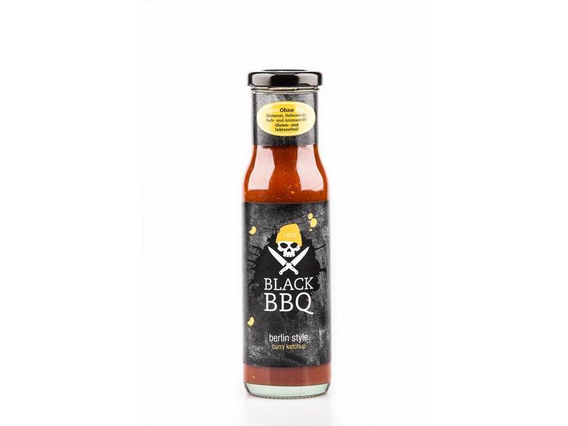 BLACK - BBQ BlackBBQ berlin style curry ketchup 240ml