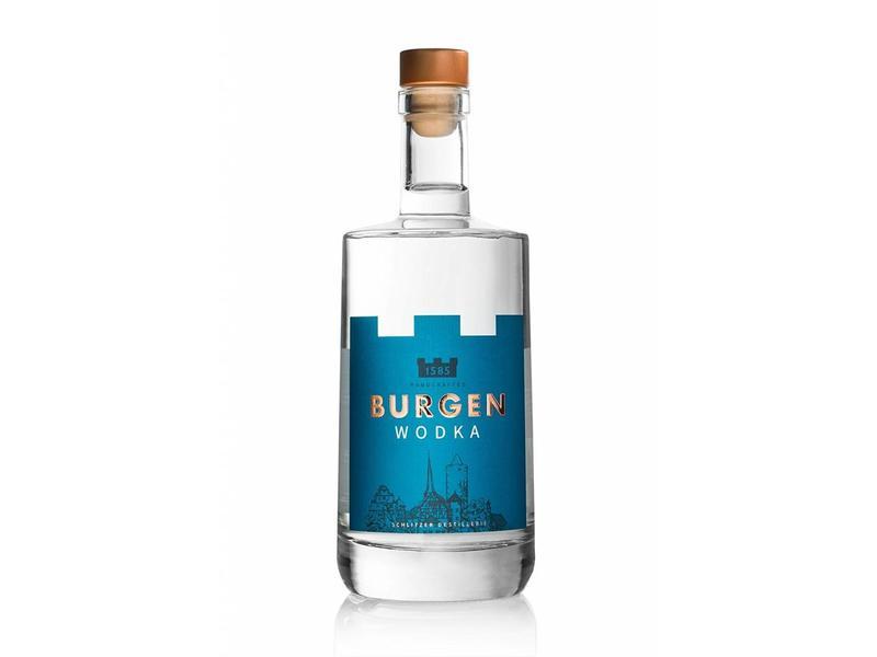 BURGEN DRINKS Burgen Premium Wodka 0.5 Liter