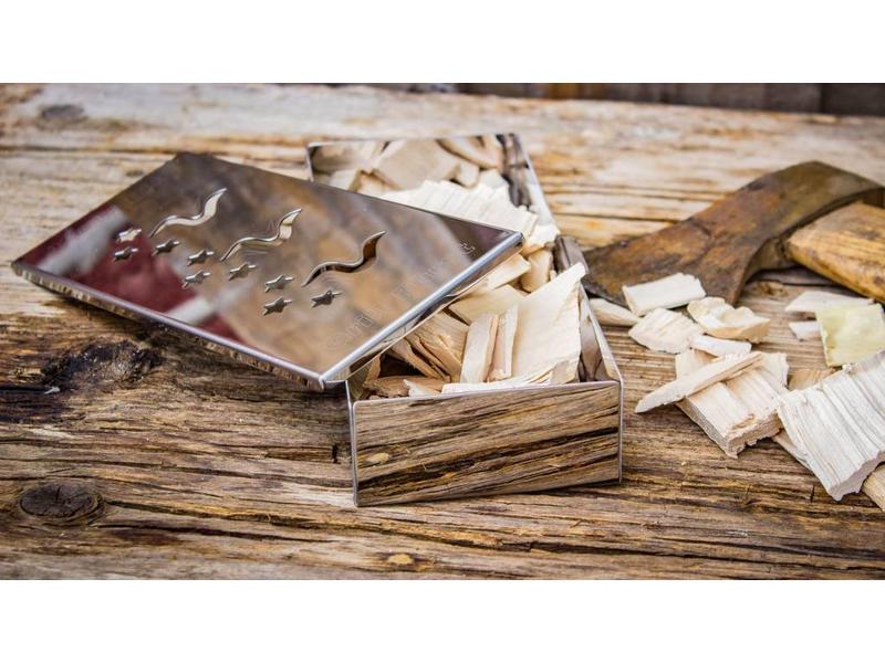 GRILLFÜRST Grillfürst Räucherbox: Edelstahl Smokerbox für tolles Aroma