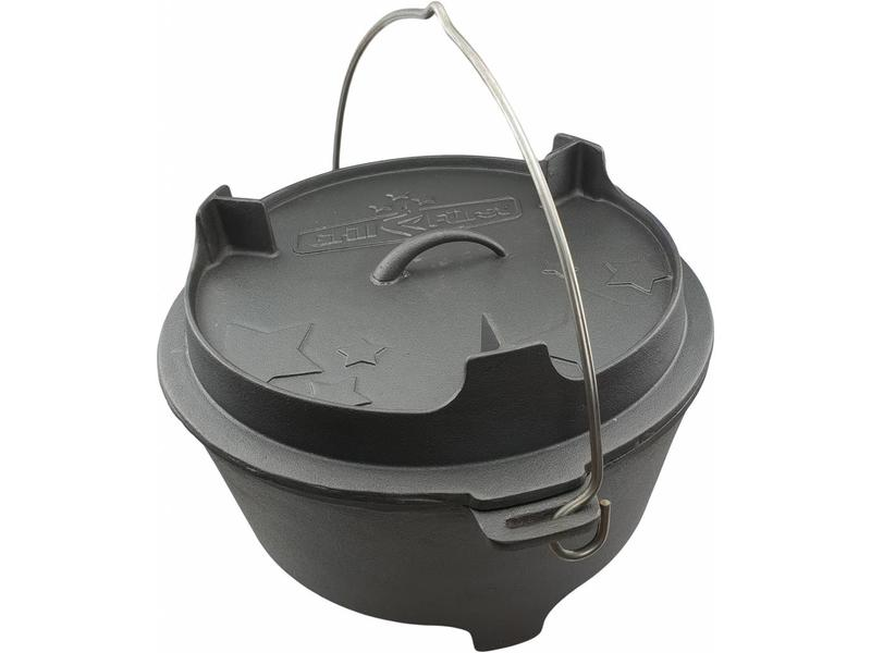 GRILLFÜRST Grillfürst Dutch Oven BBQ Edition DO6 v2