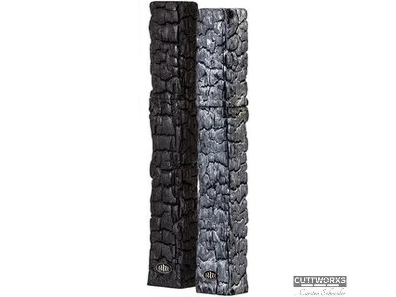 CUTTWORX`S FlameMill Pfeffermühle 40 cm Ascheoptik hell