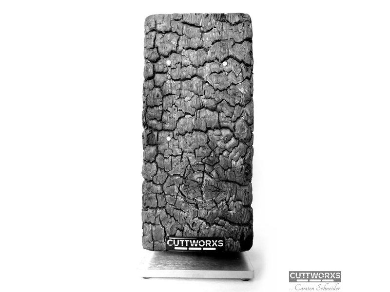 CUTTWORX`S Messerblock PYROLITH Ascheoptik
