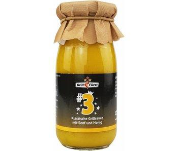 Grillfürst BBQ Sauce No. #3  Senf und Honig