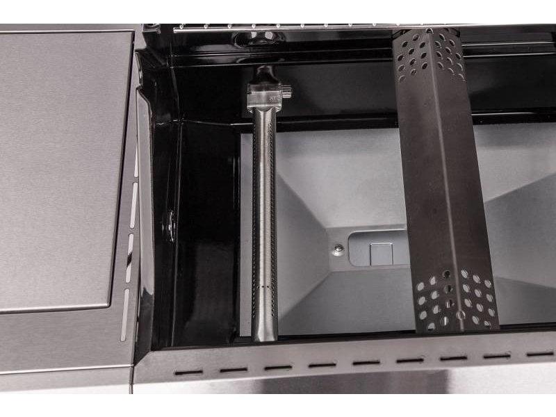 GRILLFÜRST Grillfürst G510E 5-Brenner Gasgrill mit Hochtemperaturbrenner und Edelstahl Rosten