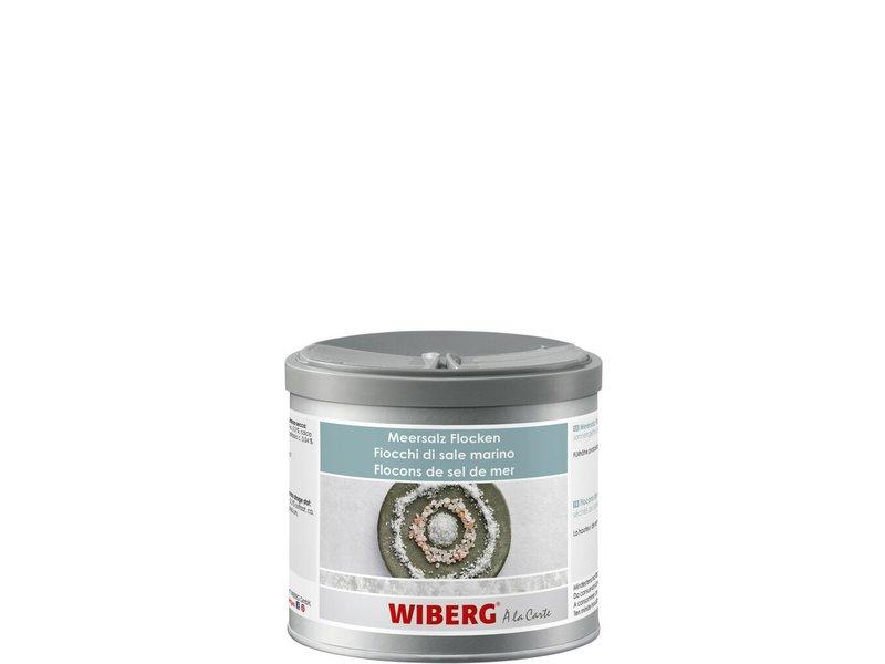 Wiberg Meersalz Flocken sonnengetrocknet -  350 g Packung