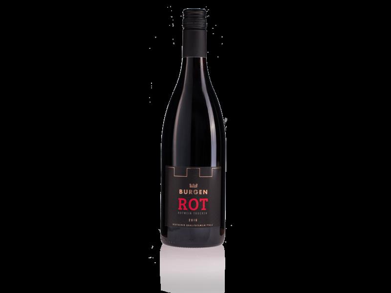 BURGEN DRINKS Burgen Rot Wein 750ml