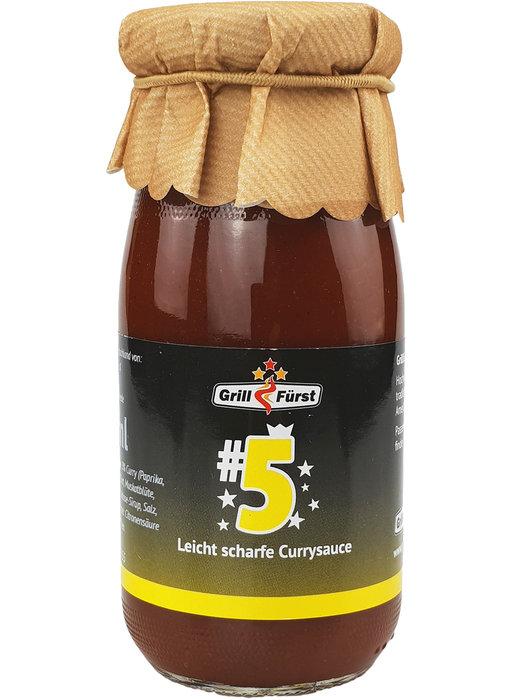 Grillfürst BBQ Sauce No. #5, die Currysauce