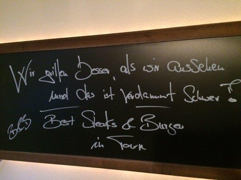 Steakhouse RIB BURGER   |   PORK   |   GESMOKT   | MARIAN STYLE