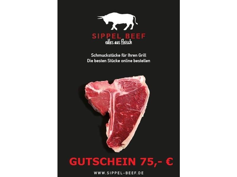 GUTSCHEIN 75 €