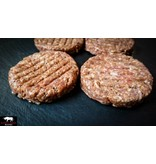 BACON SALSICCIA BURGER PATTIES 4 x 180g