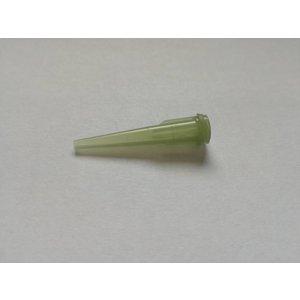 Dosiernadel konisch olivgrün 25,4mm