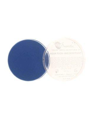 Fel blauwe aquaschmink voor marsmannetejs