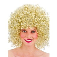 80's Disco pruik blond
