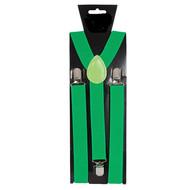 Groene bretels verstelbaar