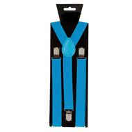 Blauwe bretels verstelbaar
