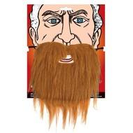 Bruine baard met snor