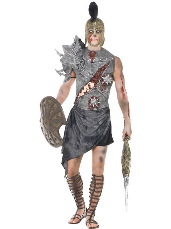 Eng zombie gladiator kostuum
