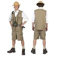 Safari kostuum man