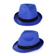 Gleufhoedje populair blauw