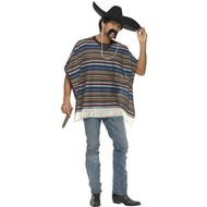 Peruaanse poncho luxe
