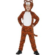 Oranje tijger pak kids