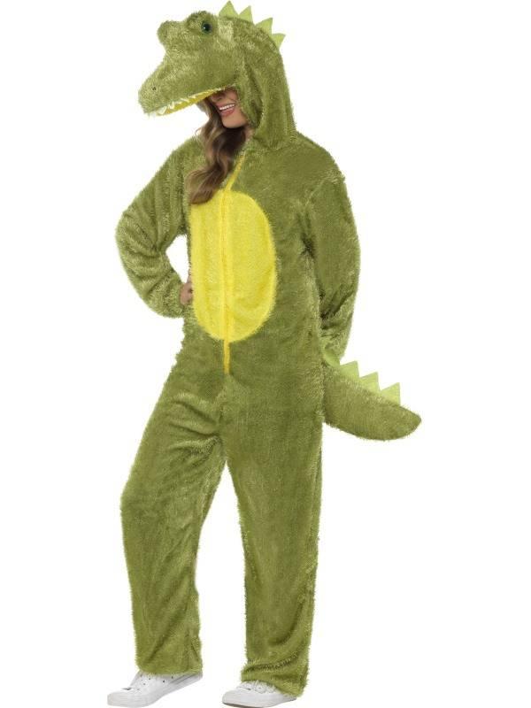 Krokodil kostuum pluche