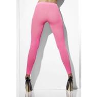 Fluor roze legging dames