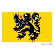 Vlag Vlaamse leeuw