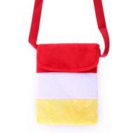Tasje Oeteldonk in  rood/wit/geel