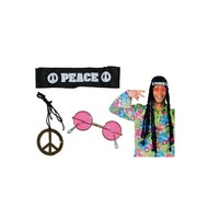 Hippie set driedelig