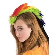 Haarclip regenboog