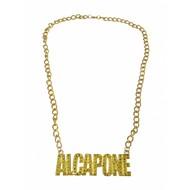 Halsketting Al Capone nep goud