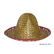Sombrero kind gekleurde band