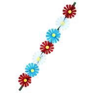 Hoofdband Ibiza met bloemen