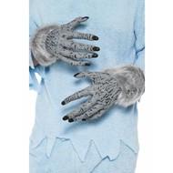 Weerwolf handschoenen grijs